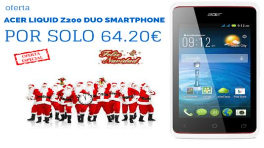 ACER Liquid Z200 Duo SmartPhone - Essential balnco